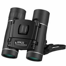 Lornetka HD 40x22 profesjonalny teleskop myśliwski Zoom wysokiej jakości wizja bez okularu na podczerwień odkryty teleskop Trave