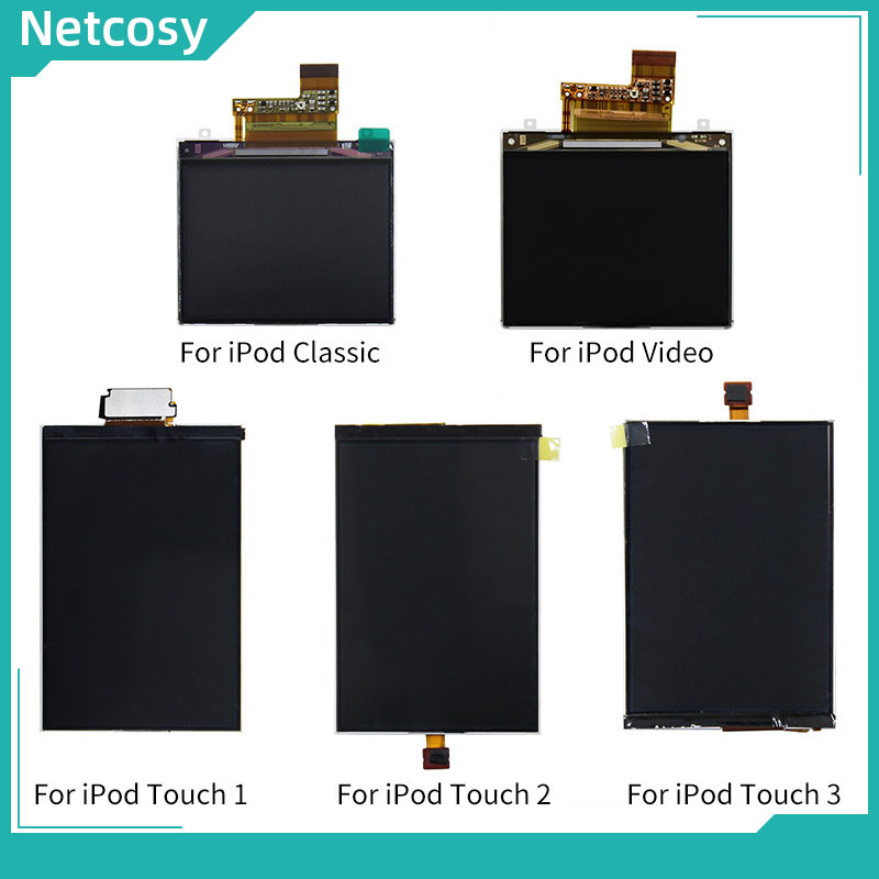 Netcosy For iPod Touch 1 2 3 Generation LCD Display Screen Replacement Parts For iPod Classic LCD Screen For iPod Video LCD(China)