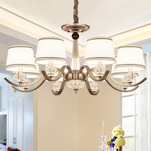 Vintage LED Chandelier Light Living Room Bedroom Decoration Chandeliers Lamp Restaurant Indoor Lighting Fixture Hanging Lamp E14