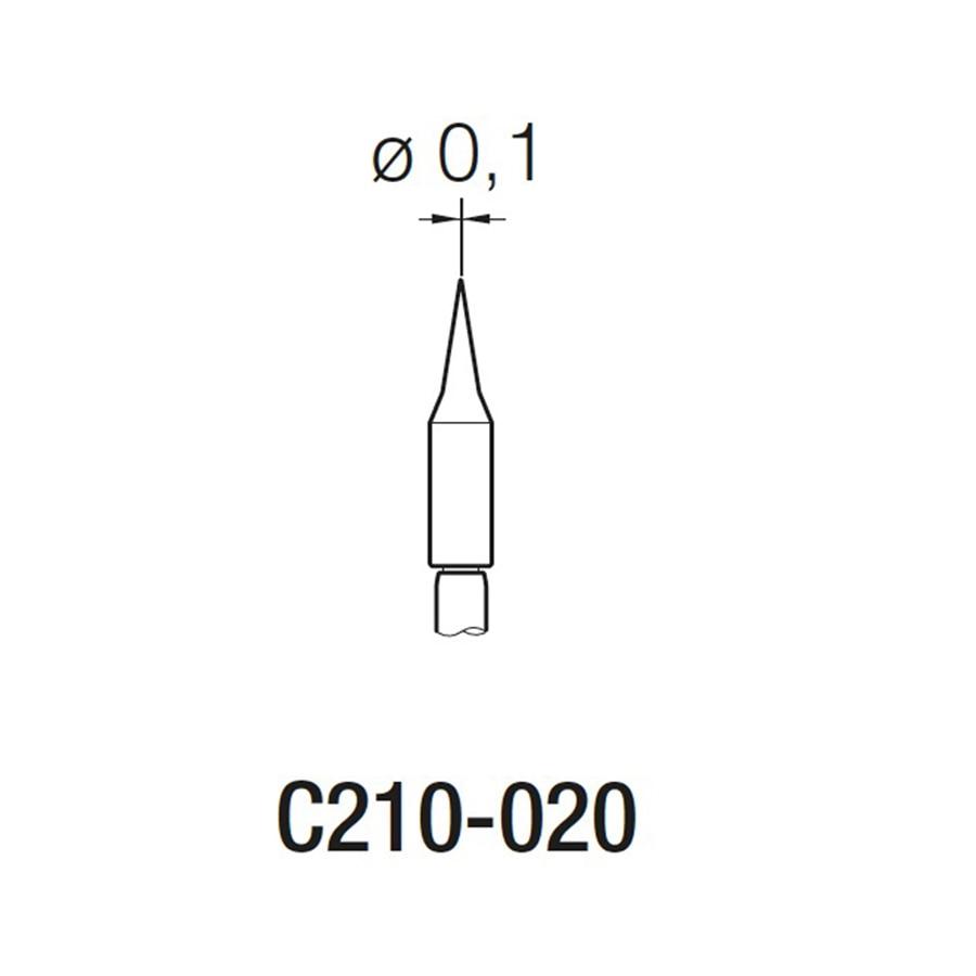 3Pcs Original JBC C210-020 C210-002 C210-018 soldering tips for T210-A soldering pen and CD-2SE soldering Station 4