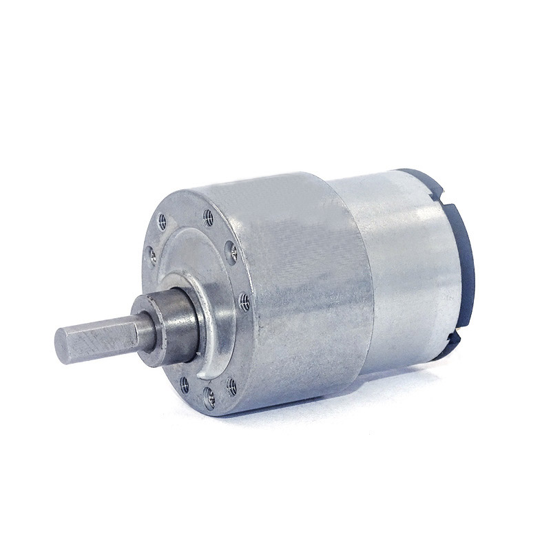1PCS JGB37-545 DC24V High Torque Speed Reduction Gear Motor with Metal Gearbox