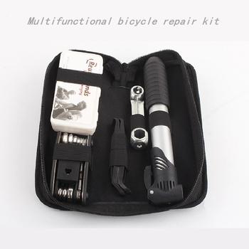 Rowerowa torba na narzędzia rowerowe do roweru Topeak przebicie opony opony naprawa zestaw narzędzi wielofunkcyjnych zestawy torba pompy Mountain Cycle Multitool zestawy narzędzi tanie i dobre opinie