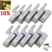 10 светодиодный т светодиодные внутренние фонари под шкафом