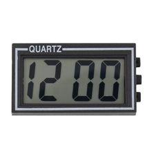 Черный цифровой lcd стол приборной панели автомобиля стол Дата Время Календарь маленькие часы