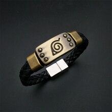 Cosplay-Accessories Jewelry Wristband Itachi Akatsuki Uchiha Kakashi Anime Naruto Metal