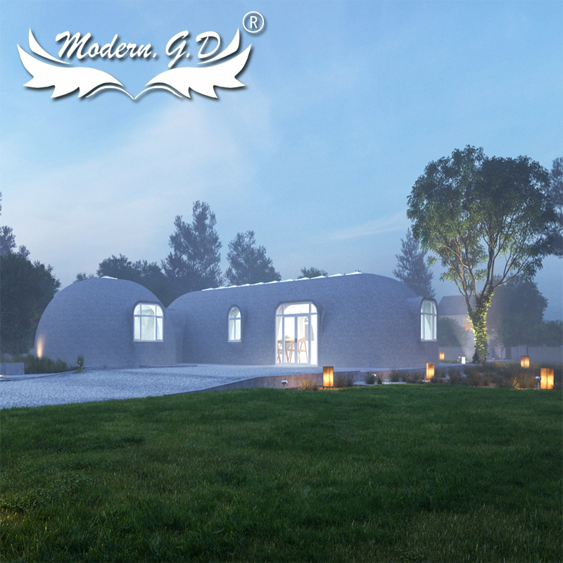 Prefabricated Commercial Building Terraced Dome House