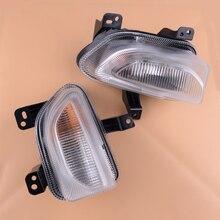 Citall 2 pçs led daytime driving running nevoeiro turn signal luz da lâmpada luz do dia drl apto para jeep renegado 2015 2016 2017 2018