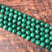 Malachite Natural Stone Beads Loose Stone Beads For Jewelry Making DIY Bracelets Necklace Accessories 4/ 6/8/10mm