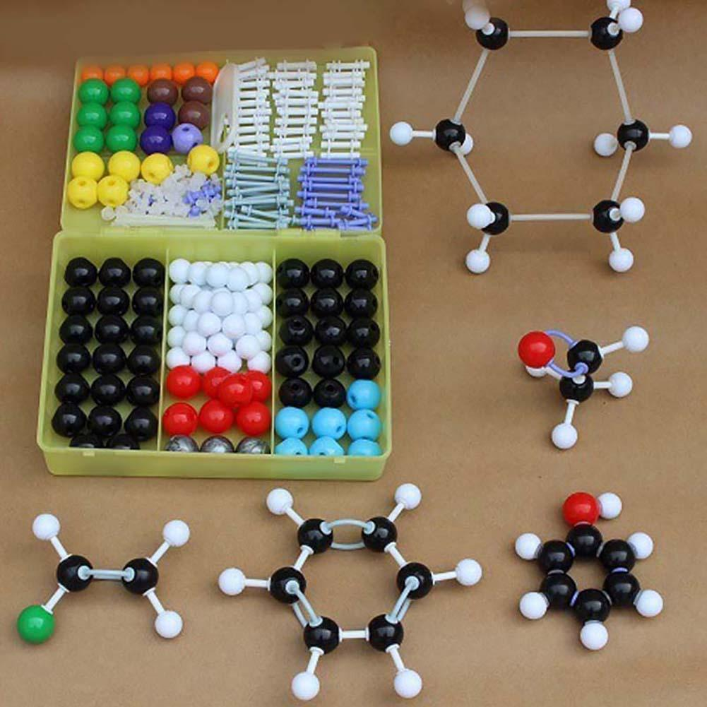 Organics Chemistry Scientific Atom Molecular Structure Models Teach Aid Set Kit
