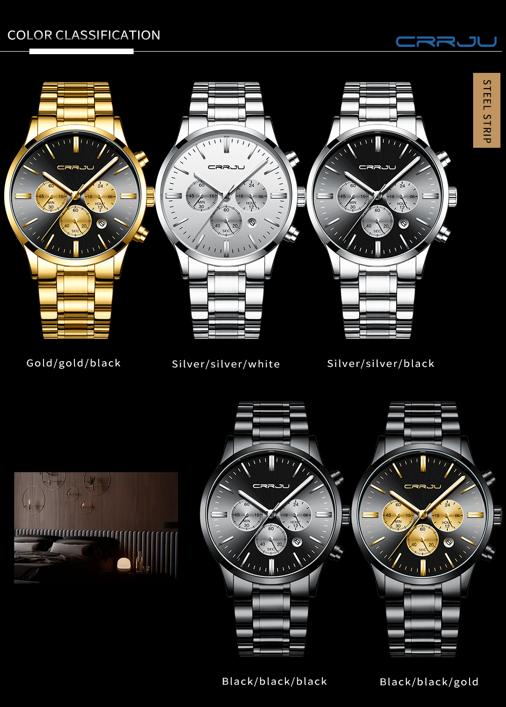 à prova dhorágua relógios horloges mannen