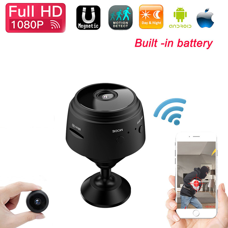 1080P Hd Mini WIFI IP Camera USB Charge Wireless Home Security Dvr Night Vision Motion Detect Mini Camcorder Loop Video Recorder