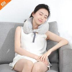 Xiaomi mijia 8H wielofunkcyjny wąż poduszka w kształcie litery u przenośna dwuwarstwowa tkanina podróżna poduszka do domu może zrobić poduszkę smart home
