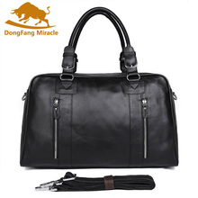 New 100% Genuine Leather Vintage Men's Classic Travel Bags L