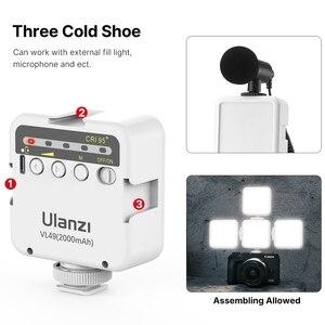 Image 4 - Ulanzi MT 08 SLRกล้องสมาร์ทโฟนVlogขาตั้งกล้องMiniขาตั้งกล้องแบบพกพารองเท้าเย็นสำหรับโทรศัพท์iPhone Android