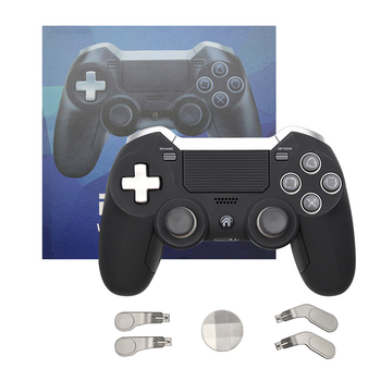 Bluetooth PS4 Controller Wireless Gamepad For PS4 Dual Vibration Elite Game Controller Joystick for PS3/PC Video Gaming Console pad ps4 game controller ps4 bluetooth connection with touch pad elite controller ps4 game handles for ps4 console with 500mah