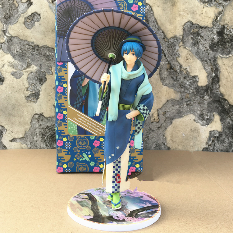 Stronger Vocaloid MEIKO KAITO Hatsune Miku Luka Flowers Kimono Ver Figure New