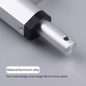 Image 3 - RF afstandsbediening Elektrische Lineaire actuator 12V metal gear kan stoppen elke tijd lineaire motor beroerte 50mm 100mm 150mm 200mm 250