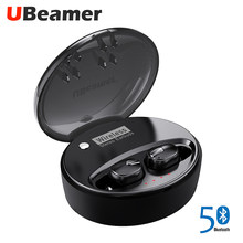 Ubeamer M9 Bluetooth Earphones 5.0 True Wireless Headset Stereo Noise Canceling Waterproof With Large Charging Case Gaming TWS(China)