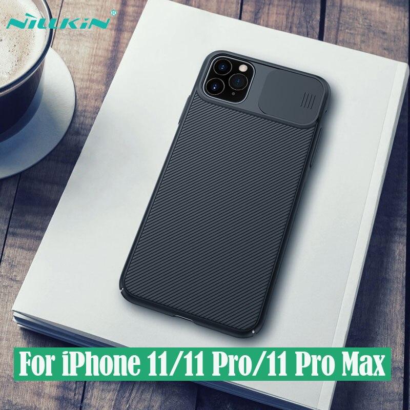 Para o iphone 11 11 Pro Max Caso NILLKIN CamShield iphone11 Pro Câmera de Slides Caso Capa Proteger a Privacidade do Clássico Tampa Traseira Para iPhone11 Pro max
