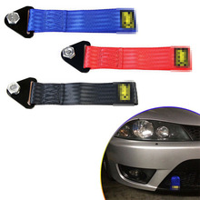 26cm High-strength Nylon Rope Universal Car Racing Ropes Eye Strap Trailer Bumper Max 2t Tow With Nuts