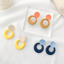 Europe and America ins personality fashion new earrings sweet temperament wild girls hipster rubber