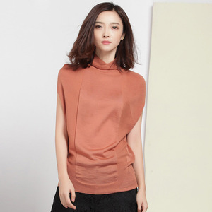 Image 5 - XITAO Wool Soft Elastic Sweaters Pullovers Turtleneck Short Sleeve Autumn Women Cashmere Sweater Female Brand Jumpers HHB 002