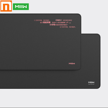 Xiaomi MIIIW Large Mouse Pad Gaming Computer Gamer Office Desk Pad Rubber Keyboard Anti-skid Soft Mausepad For Laptop PC
