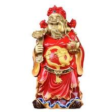 цена MOZART God Of Wealth Buddha Statue Of God Of Wealth Pure Copper Lucky Shop Opening Gift Dedicated, Red Robe God of Wealth онлайн в 2017 году