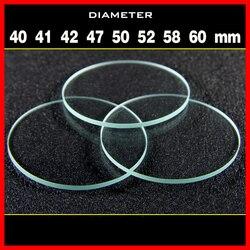 1 sztuk okulary zerówki Torchy obiektyw do blask latarki szklana lampa średnica 40 41 42 47 50 52 58 60mm grubości 1.8mm szklany obiektyw Obiektywy    -