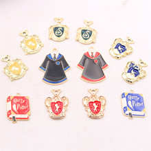 8pcs Enamel Magic Prop Pendant, Magician Charm, Magic Badge Charm, Magic Robe Charm, Magic Cheats Charm, DIY Jewelry Making P78 цена 2017