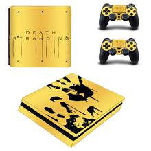 Death Stranding PS4 Slim Skin Sticker Decal Vinyl for Sony Playstation 4 Console and Controllers PS4 Slim Skin Sticker