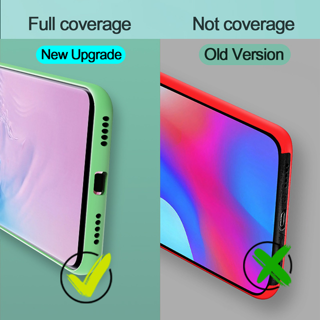 Liquid Silicone Candy Case For Samsung Galaxy A51 A71 A81 A91 A01 A11 A21 A31 A41 A50 A70 S20 Ultra S10 Plus Note 10 Lite Cover 6