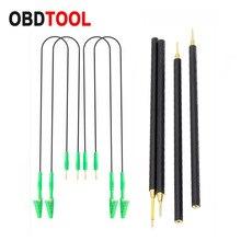 4 adet/takım BDM probu kalemler 4 adet Pins bağlantı kablosu ile yedek LED BDM çerçeve OBD2 programlama KTAG/KESS ECU kurulu
