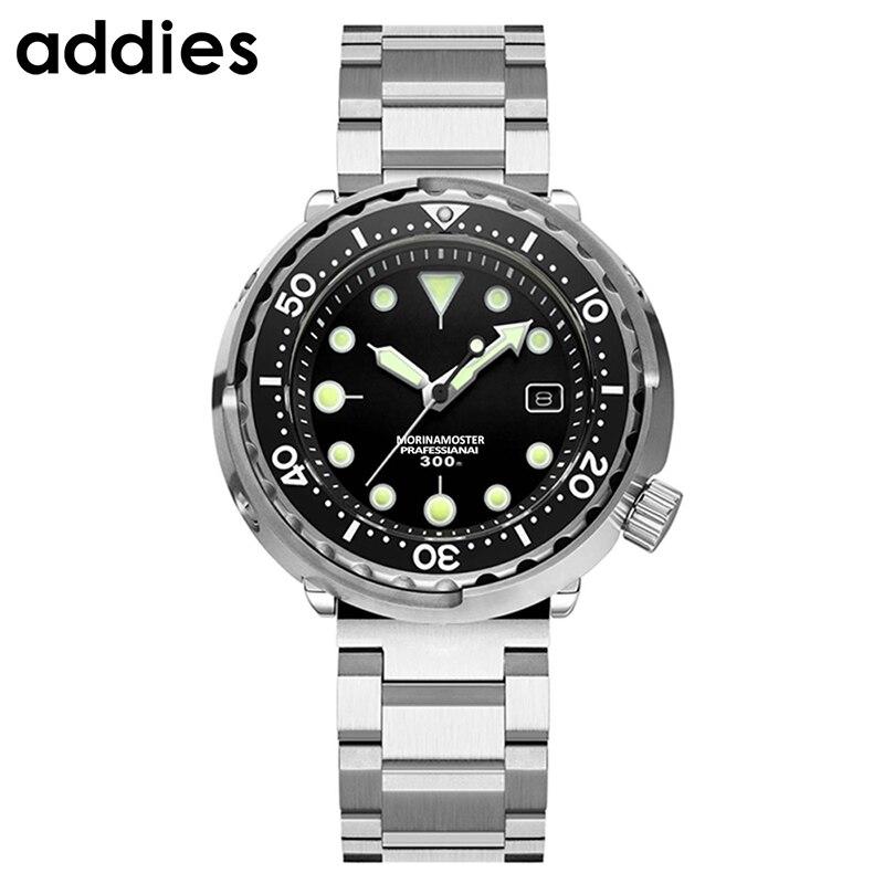 Men Automatic Watch Stainless Steel Diver Watch 300m Water Resistant Sport watch Resistant Ceramics bezel Sapphire glass - 2