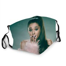 Star Queen Eva Face Masque Fashionable Washable Protective Antibacterial Man/Woman Mask Ariana Grande Poster Sticker