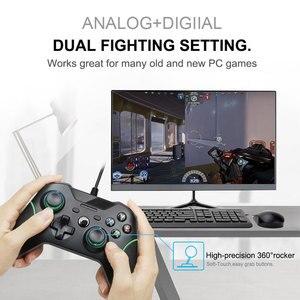 Image 5 - USB Wired בקר Controle עבור Microsoft Xbox אחת בקר Gamepad עבור Xbox אחת Slim PC Windows Mando עבור Xbox אחד ג ויסטיק