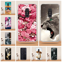 for Alcatel 1X Case Cover Soft Tpu 3D Cover for Alcatel 1X 5059d Cover Case Silicone Coque for Alcatel 1X Phone Case Funda Capa(China)