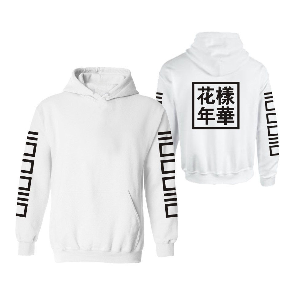 BTS Bulletproof Boys Jungkook The Mood For Love Celebrity Style Hoodie Korean-style Autumn Clothing Fleece Coat