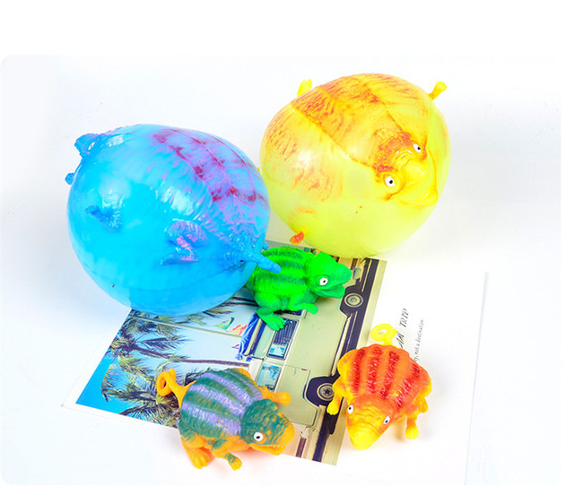 BalleenShiny Baby Early Educational Toy Dinosaur Balloons Kids Development Toy Birthday Balloon Baby Shower Decor Gift