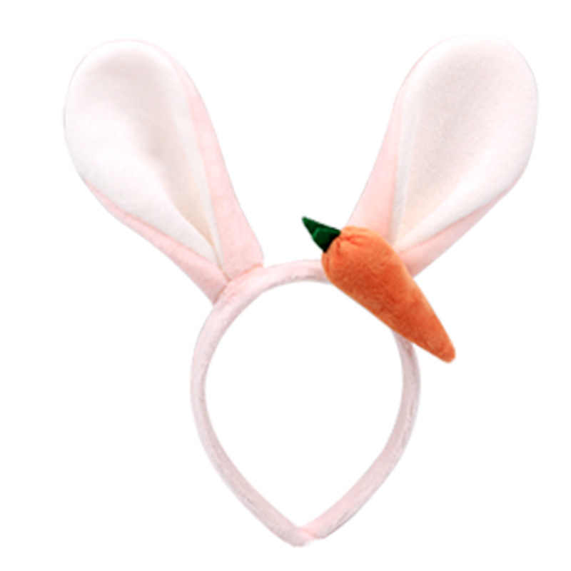 Disney Park Rabbit Ears Carrot Easter New Party Cos Grey Gifts Festival Headband