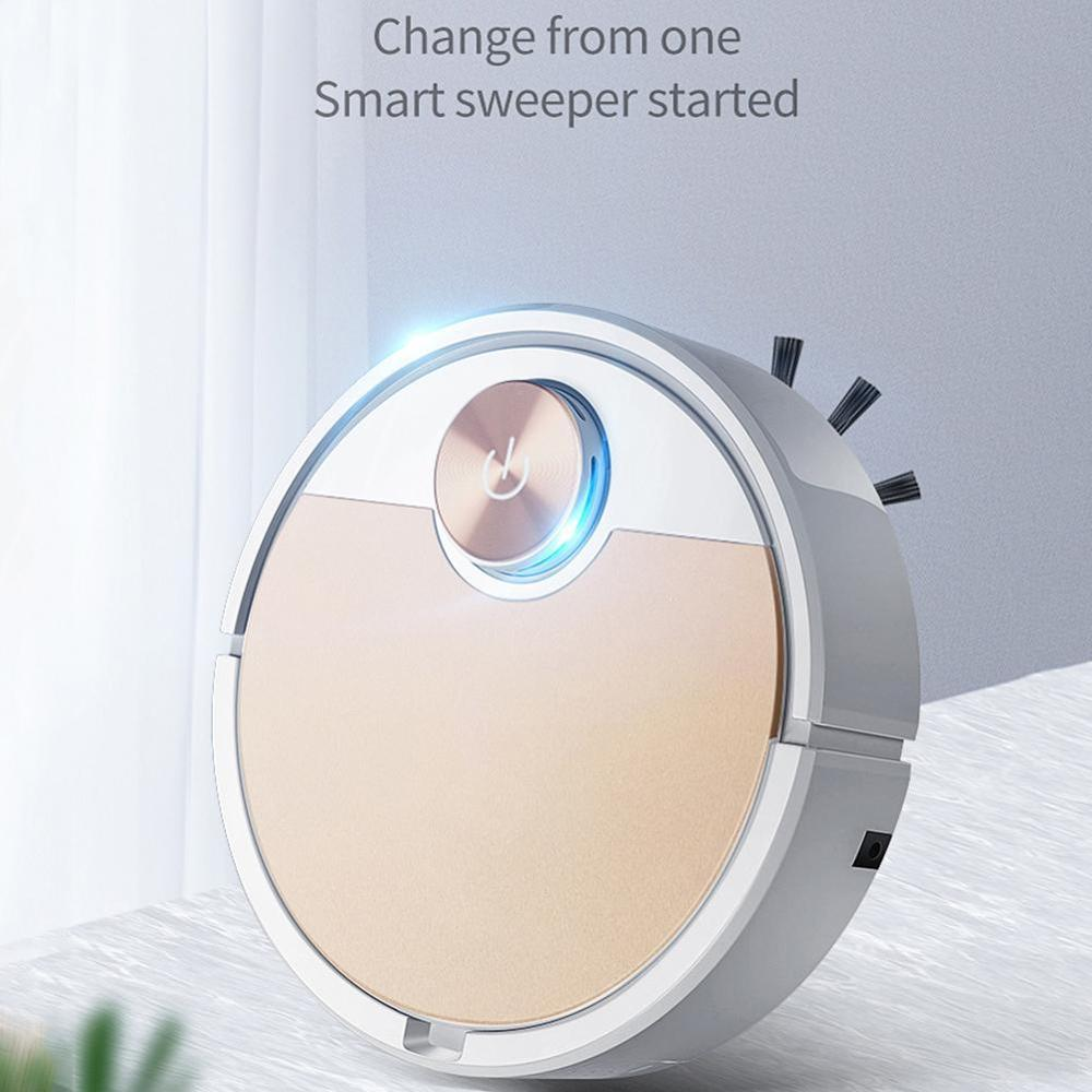 New Robot Vacuum Cleaner Es300 App Versions 3000Mah Bettery Dry Wet 2000Pa Powerful Suction Multifunctional Sweeping Robots