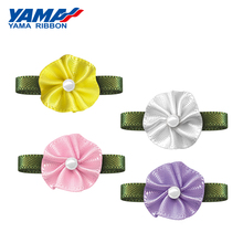 YAMA Foliage Disc Flower Diameter 15mm±2mm Leaf 25mm±3mm 200pcs/bag Satin Ribbon for Decoration Gifts Packaging Crafts Handmade