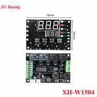 Controlador de temperatura XH-W1504 TEC, placa de módulo de Control de conmutación automática, termostato de lámina de refrigeración Semiconductor