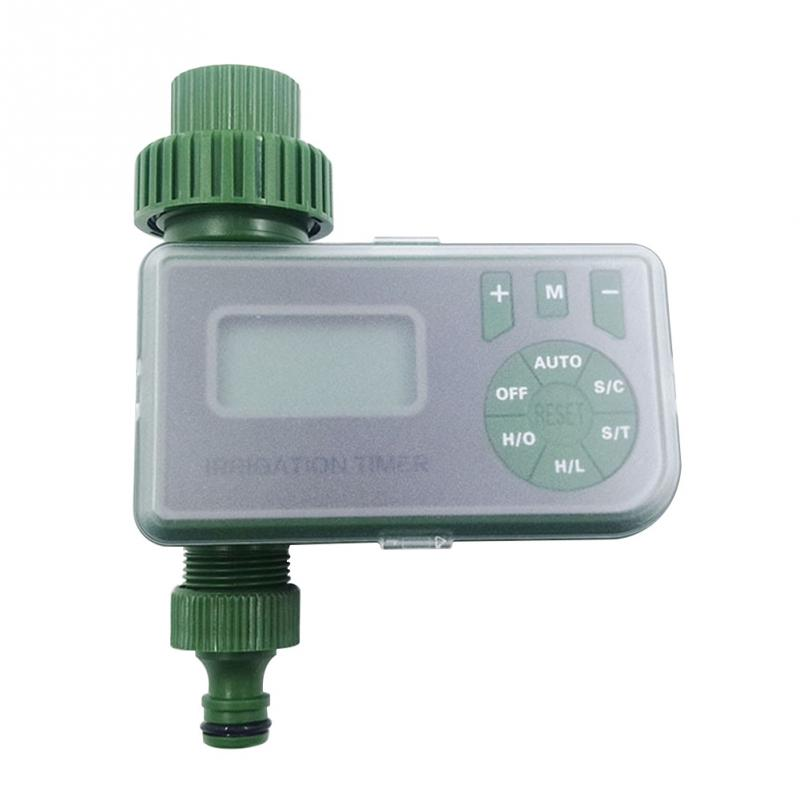 Outdoor Easy Use Clear Accessories Tool Irrigation Timer Water Tap Garden Intelligent LCD Display Automatic Controller Sprinkler|Garden Water Timers| |  - title=