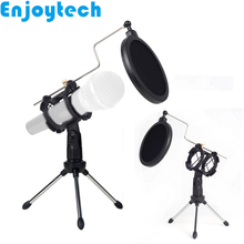 New Arrival Portable Desktop Mounts Holder Mini Tripod for Microphones Live Streaming Video Bloggers