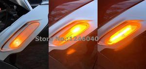 Image 4 - Led dinâmico marcador lateral repetidor de seta, 2 peças, luz sequencial blinker para mini cooper r60 r61 campo 2011 2019