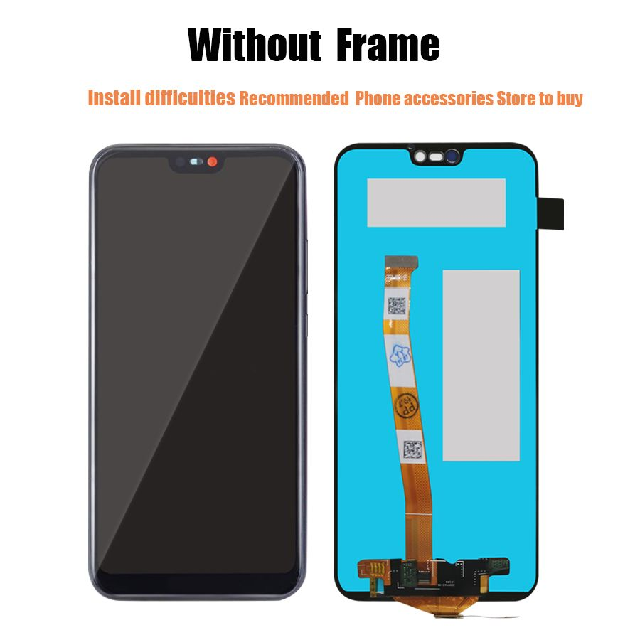 AAAA Original LCD For Huawei P10 P20 Lite LCD Touch Screen Display Digitizer Assembly Replacement For Huawei Nova 3E Screen
