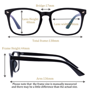 Image 2 - 抗ブルーレイ多焦点プログレッシブ老眼鏡女性男性リーダー UV400 抗疲労参照遠参照近く視度眼鏡