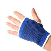 1 пара фитнес-перчатки для защиты рук, гимнастические, тренировочные перчатки, гантель для йоги, перчатки без пальцев, вязаные, дышащие, мягкие