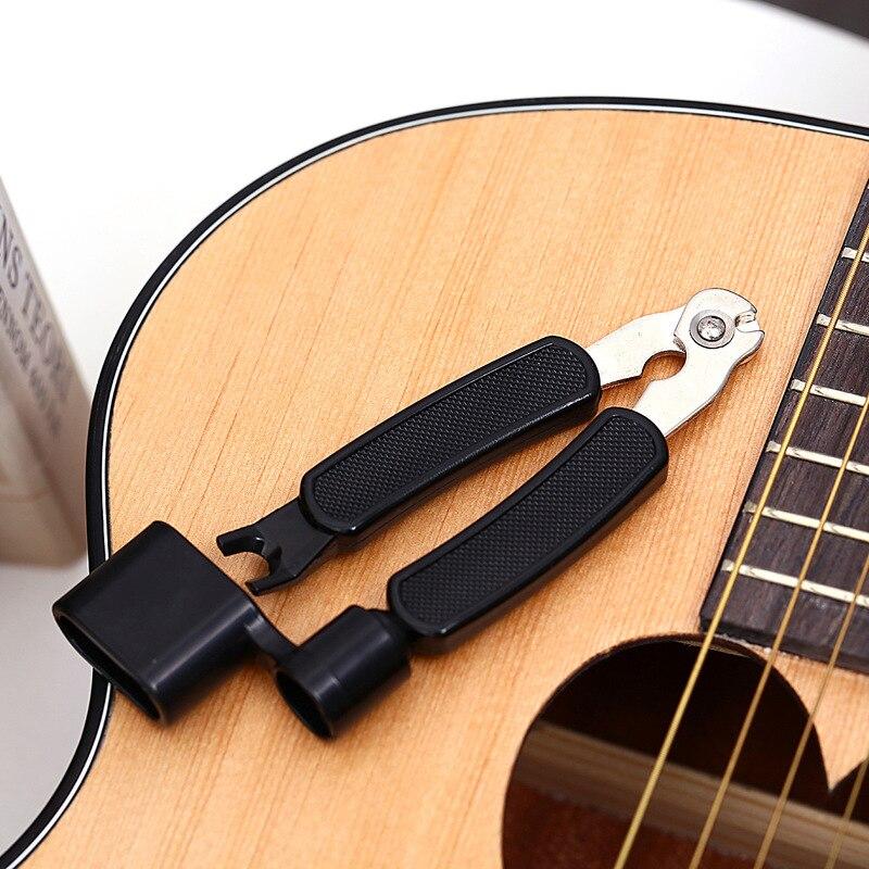 3 In 1 Multifunction Guitar String Winder String Pin Puller String Cutter Guitar Tool Guitar Accessories